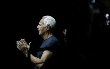 Ο κορονοϊός επηρέασε και τον Giorgio Armani: Η απόφαση για σόου «κεκλεισμένων των θυρών» που ξάφνιασε
