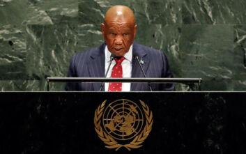 Ο πρωθυπουργός του Λεσότο διέφυγε στην Αφρική – Δεν παρουσιάστηκε για τη δολοφονία της πρώην συζύγου του