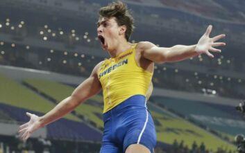 Ο Ντουπλάντις με 6.15μ. έσπασε το παγκόσμιο ρεκόρ του Μπούμπκα στο άλμα επί κοντώ ανοιχτού στίβου