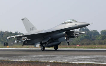 F-16 της Ταϊβάν που έφεραν πυραύλους αναχαίτισαν κινεζικά μαχητικά