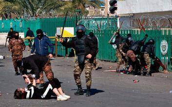Ο ΟΗΕ καταδικάζει τη χρήση κυνηγετικών όπλων εναντίον διαδηλωτών στο Ιράκ