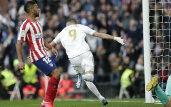 La Liga: Αφεντικό της Μαδρίτης η Ρεάλ, νίκησε την Ατλέτικο