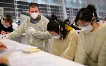 Εκκενώθηκε κτίριο στο Χονγκ Κονγκ για δύο κρούσματα κορονοϊού