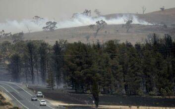 Οι θερμοκρασίες ρεκόρ στην Καμπέρα και η απειλή των μεγάλων πυρκαγιών