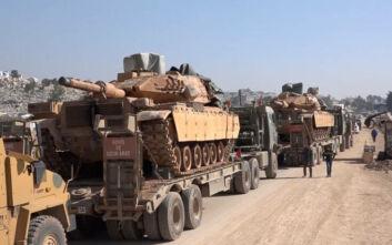 Συρία: Η Τουρκία στέλνει ενισχύσεις στην Ιντλίμπ