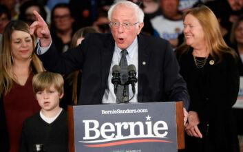 Πρωτιά Σάντερς δείχνει δημοσκόπηση για το προεδρικό χρίσμα στους Δημοκρατικούς