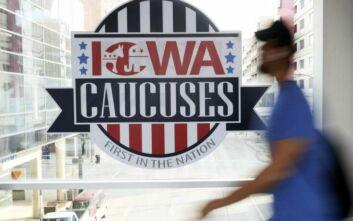 Σε λίγη ώρα τα πρώτα αποτελέσματα για τα προκριματικά των Δημοκρατικών στην Αϊόβα