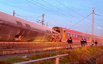 Δύο οι νεκροί από τον εκτροχιασμό τρένου κοντά στο Μιλάνο