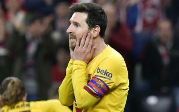 Κύπελλο Ισπανίας: Αποκλείστηκε και η Μπαρτσελόνα, ήττα 1-0 από την Αθλέτικ Μπιλμπάο