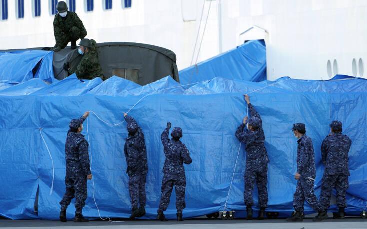 Κορονοϊός: Ακόμα 44 κρούσματα στο κρουαζιερόπλοιο στην Ιαπωνία