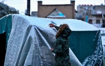 Δεύτερη φορά μέσα σε έναν αιώνα έπεσαν χιόνια στη Βαγδάτη