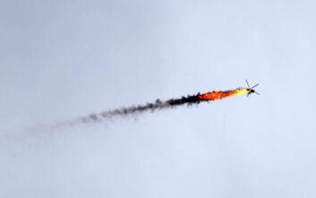Από αντάρτες που υποστηρίζει η Τουρκία καταρρίφθηκε το ελικόπτερο στο Χαλέπι