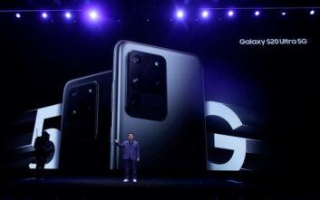 Το Samsung Galaxy S20 Ultra με την κάμερα των 108 MP