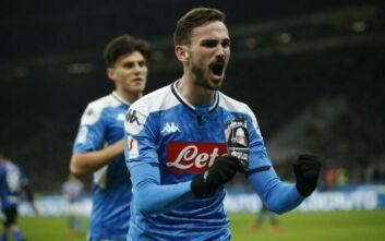 Coppa Italia: Νίκη της Νάπολι επί της Ιντερ στον πρώτο ημιτελικό