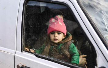 Συρία: Στους 900.000 οι εκτοπισμένοι στην Ιντλίμπ από τον Δεκέμβριο