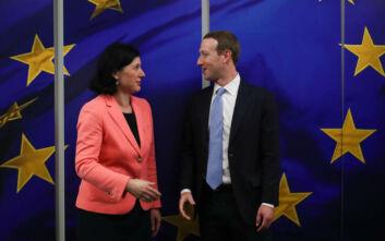 Ο Μαρκ Ζάκερμπεργκ επιχειρεί να γοητεύσει τις Βρυξέλλες