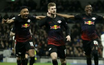 Champions League: Νίκη πρόκρισης για την Λειψία στο Λονδίνο