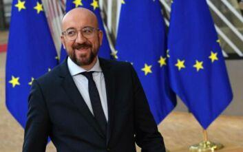 Διακοπή στη σύνοδο κορυφής: Συναντήσεις του Σαρλ Μισέλ με τους αρχηγούς των κρατών