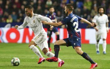 La Liga: Η Ρεάλ Μαδρίτης έχασε από την Λεβάντε και έπεσε στη 2η θέση