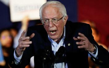 ΗΠΑ: Το προβάδισμα του σοσιαλιστή Σάντερς «βάζει φωτιές» στους μετριοπαθείς Δημοκρατικούς