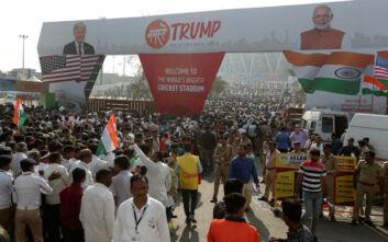 «Namaste Τραμπ»: Εντατικές προετοιμασίες στην Ινδία για τον Αμερικανό πρόεδρο