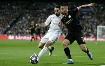 Champions League: Ανατροπή πρόκριση για την Μάντσεστερ Σίτι, 1-2 την Ρεάλ στη Μαδρίτη