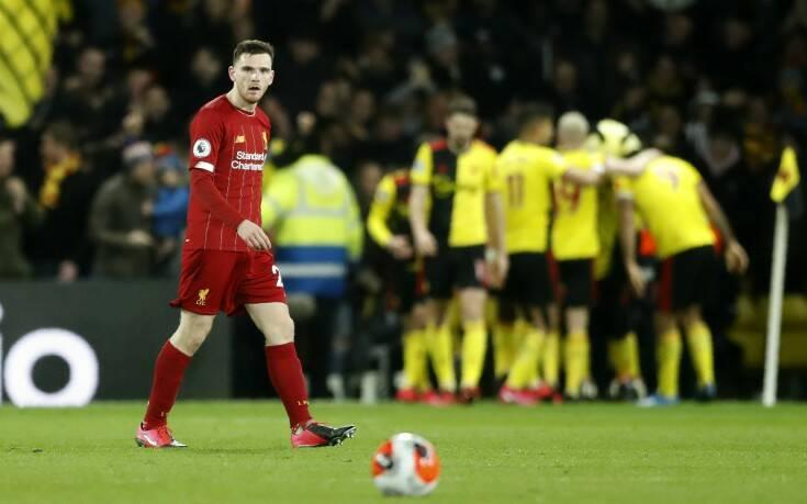 Premier League: Πρώτη ήττα της Λίβερπουλ μετά από 44 αγώνες