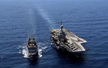 Γέμισε με πολεμικά πλοία η ανατολική Μεσόγειος – Ο χάρτης των διεκδικήσεων