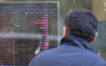 Ο κορονοϊός «χτύπησε» και το χρηματιστήριο του Μιλάνου, βουτιά των μετοχών 4%
