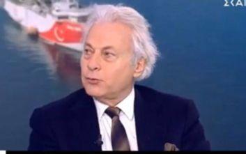 Ναύαρχος ε.α. Αντωνιάδης: «Μόνο αν απευθύνεσαι σε κρετίνους λες ότι παρασύρθηκε το Ορουτς Ρέις»