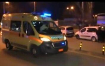 Η στιγμή που οι δύο Έλληνες από την Γουχάν φτάνουν στο νοσοκομείο Σωτηρία