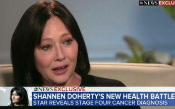 Συντετριμμένη η Σάνεν Ντόχερτι, αποκάλυψε ότι έχει πάλι καρκίνο
