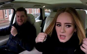 Ο Τζέιμς Κόρντεν απαντά για το carpool karaoke: Οδηγώ στο 95% των γυρισμάτων