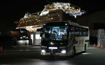 Κορονοϊός στην Ιαπωνία: Επιβάτες που αποβιβάστηκαν από το Diamond Princess παρουσίασαν συμπτώματα