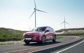 Οικονομικό το νέο Ford Kuga, με 30% περισσότερη αυτονομία