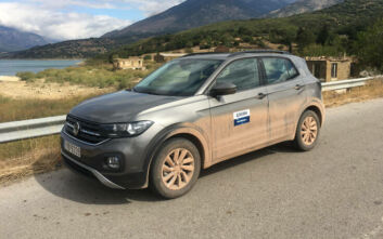 Οδηγούμε το Volkswagen T-Cross 1.0 TSI 95 PS
