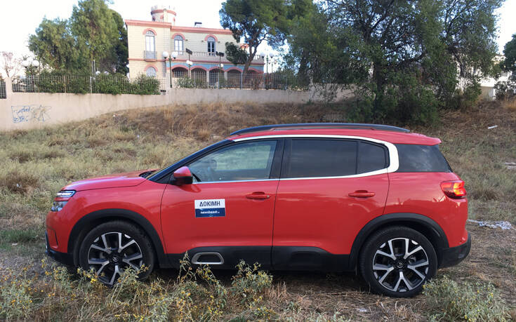 Οδηγούμε το Citroen C5 Aircross 1.5 BlueHDi 130 PS EAT8 – Newsbeast