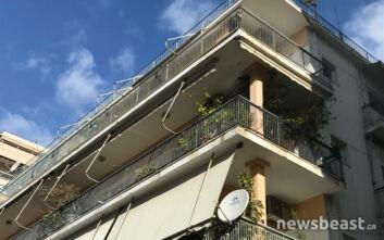 Ξέσπασε νέα φωτιά σε πολυκατοικία απέναντι από το διαμέρισμα στο Παλαιό Φάληρο