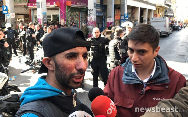 Μαρτυρία για τη συμπλοκή στη Μενάνδρου: Τον πλησίασαν 30 άτομα και πριν τον σκοτώσουν του ζήτησαν χρήματα