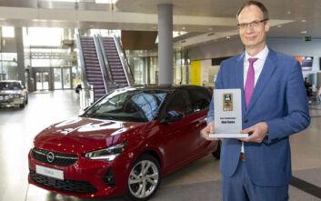 Βραβείο συνδεσιμότητας για το νέο Opel Corsa