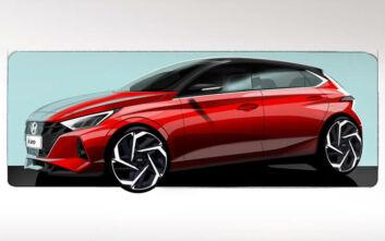 Οι πρώτες εικόνες του νέου Hyundai i20