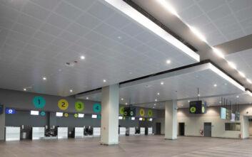Ο νέος τερματικός σταθμός στο αεροδρόμιο Μυτιλήνης «Οδυσσέας Ελύτης»