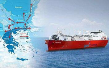 Το LNG Αλεξανδρούπολης είναι η νέα πύλη φυσικού αερίου στην ανατολική και κεντρική Ευρώπη