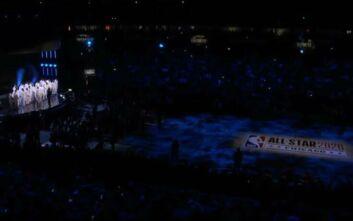 All Star Game 2020: Η συγκλονιστική στιγμή που όλο το στάδιο φωνάζει ρυθμικά το όνομα του Κόμπι Μπράιαντ