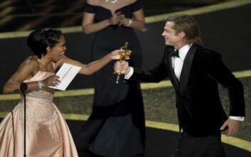 Όσκαρ 2020: Σε εξέλιξη η 92η τελετή - Βραβείο Β΄ Ανδρικού ρόλου στον Μπραντ Πιτ