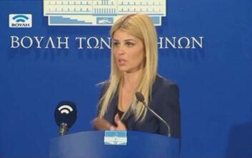 Ερώτηση της Έλενας Ράπτη στον υπουργό Υγείας για τον κοροναϊό