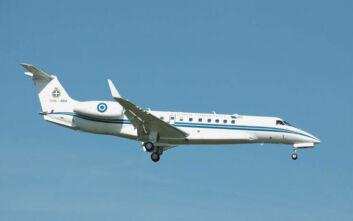 Μεταφορά βρέφους για χειρουργική επέμβαση στην Ιταλία με αεροσκάφος της Πολεμικής Αεροπορίας