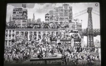 «Τα Χρονικά της Νέας Υόρκης», μια τοιχογραφία με πάνω από 1.000 Νεοϋρκέζους