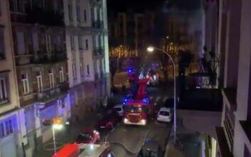 «Οι τοίχοι έλιωναν» λένε οι πυροσβέστες για τη φωτιά σε πολυκατοικία στο Στρασβούργο