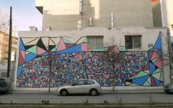 Παγκόσμια Ημέρα κατά του καρκίνου: Μια εντυπωσιακή τοιχογραφία στη Θεσσαλονίκη